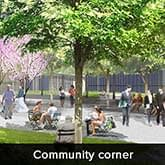 Pionier Gardenia - Community Corner